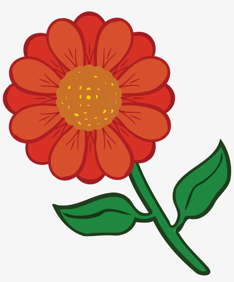 Free Clipart Of A Daisy Flower.
