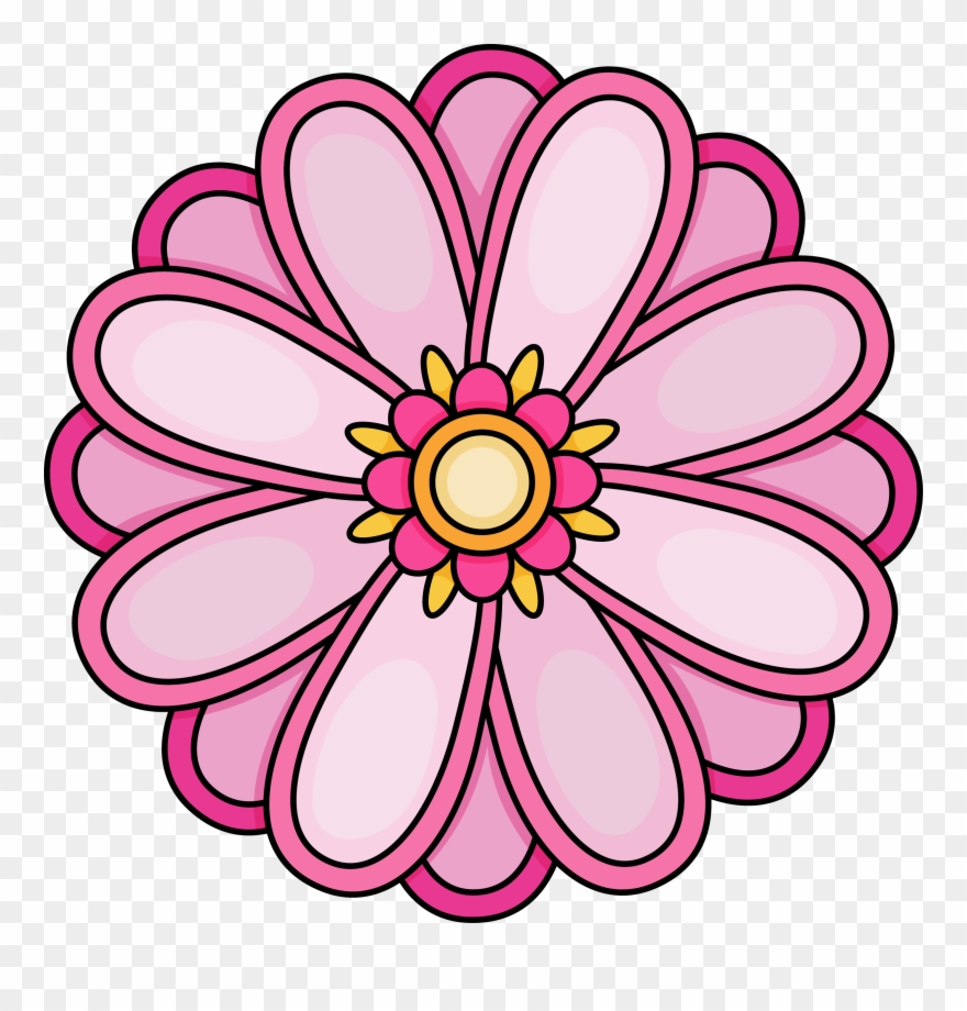 Imagination Pictures Of Flowers To Color Free Printables.