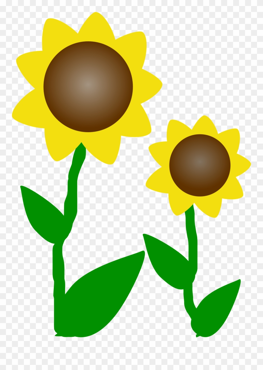 Sunflower Clip Art Free Printable Clipart Panda Free.