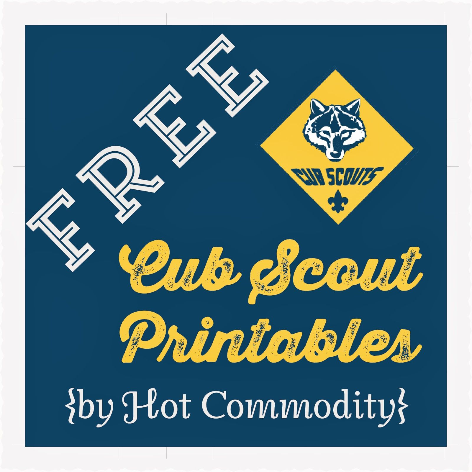 Love it will have to print it Hot Commodity Home Decor: Free Cub.