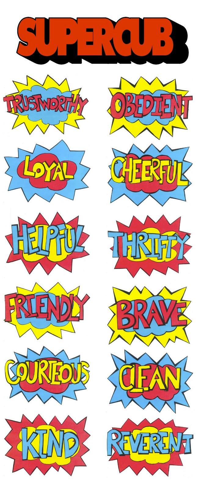 Akela's Council Cub Scout Leader Training: Super Cub Superhero Comic.