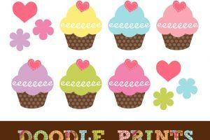Free printable cupcake clipart 3 » Clipart Portal.