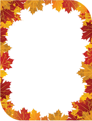 9 best images of free autumn printable stationery templates free.