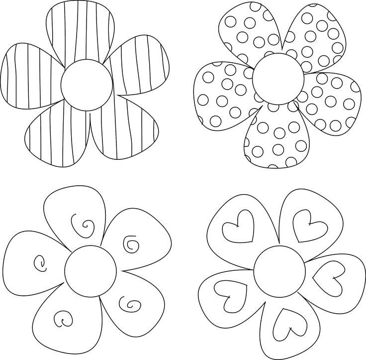 Smartness Ideas Printable Flowers 5 Stunning Decoration Free.