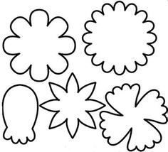 Printable Flower Stem Templates.