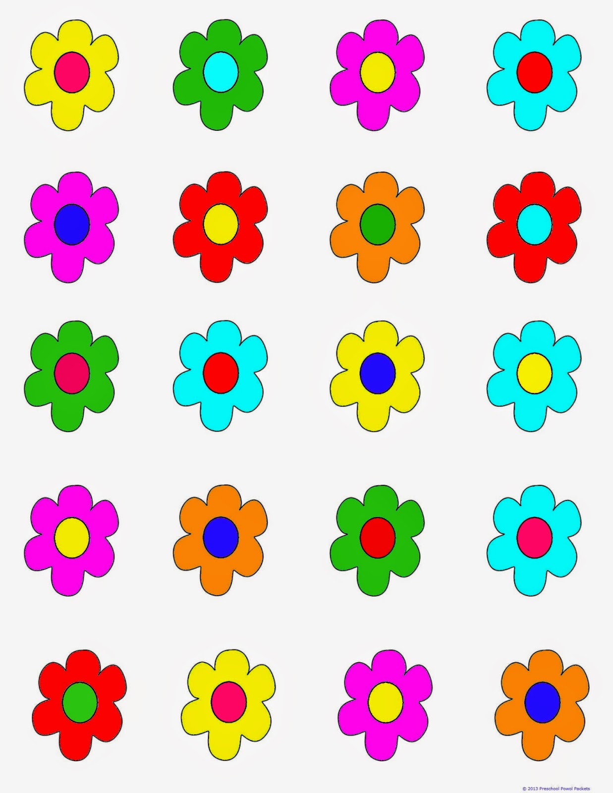 FREE} Printable Game: Flower Hunt!!.