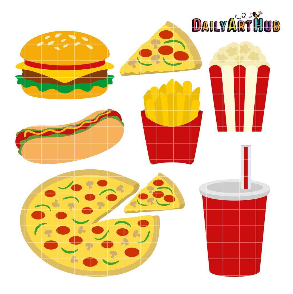 Fast Food Clipart Printable 292.