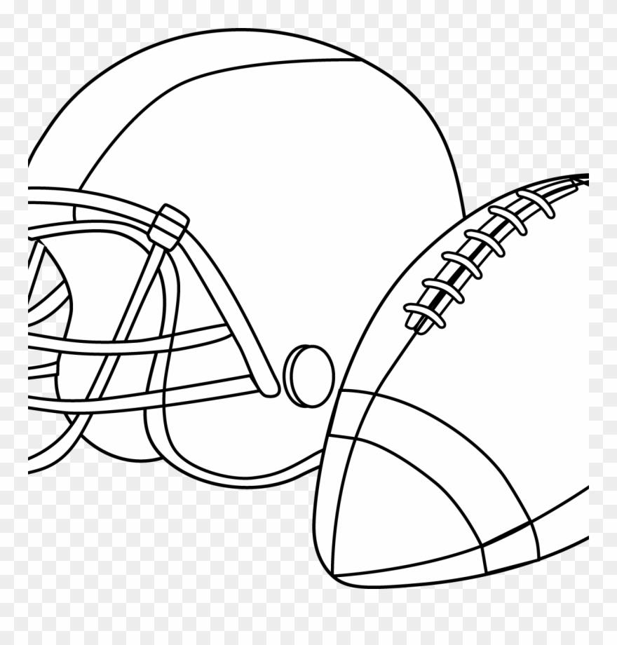 Football Helmet Coloring Pages Preschool Denver Broncos.
