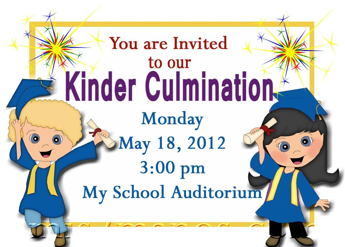 Free Printable Kindergarten Graduation Announcements. Graduation.