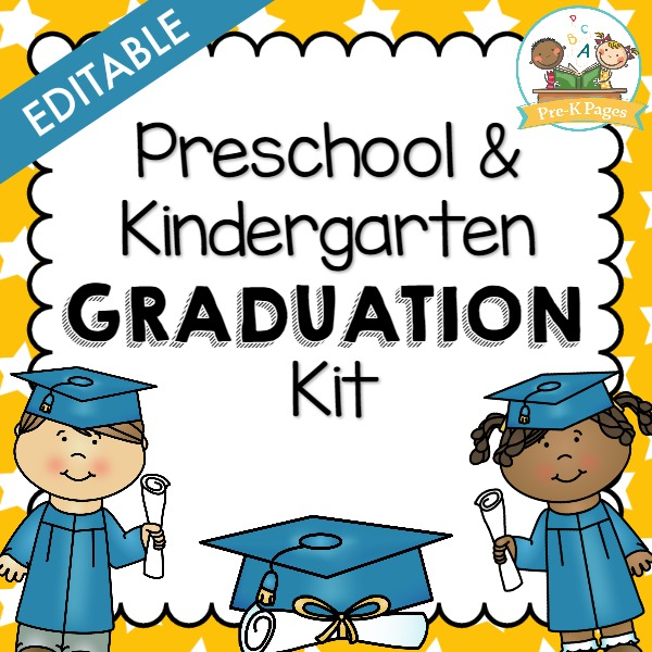 Preschool Graduation Kit Preview.