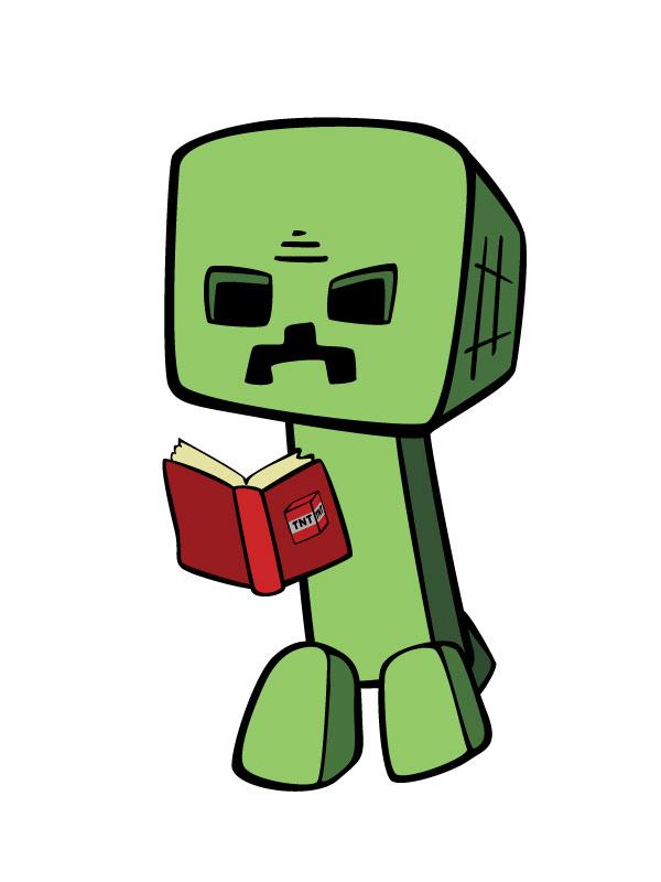 Ender man reading a book! #enderman #reading #book #free.