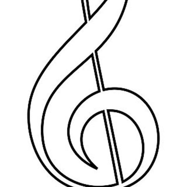 Printable Music Notes.