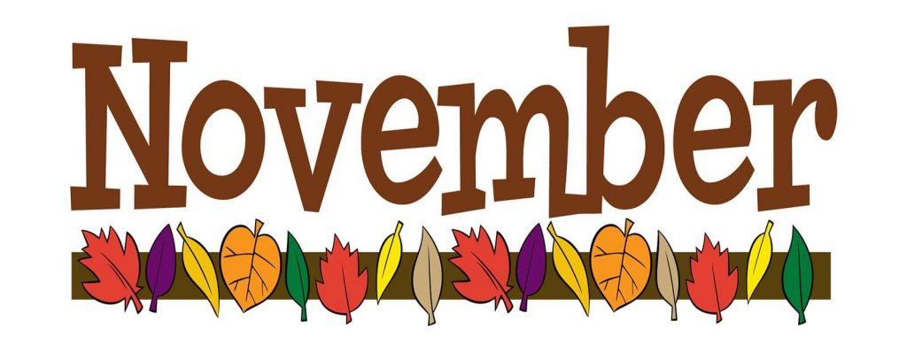 November Images Clipart.
