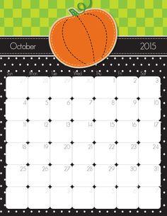 Cute and Crafty 2015 Printable Calendar.