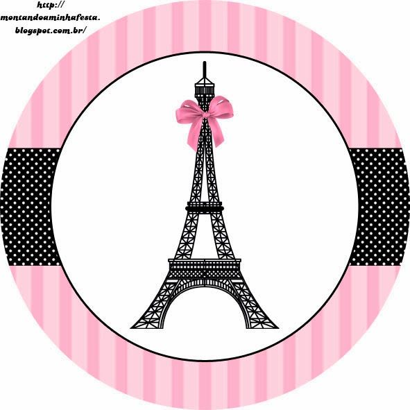 Paris: Free Printable Toppers.