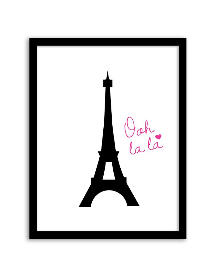 Eiffel Tower Wall Art.