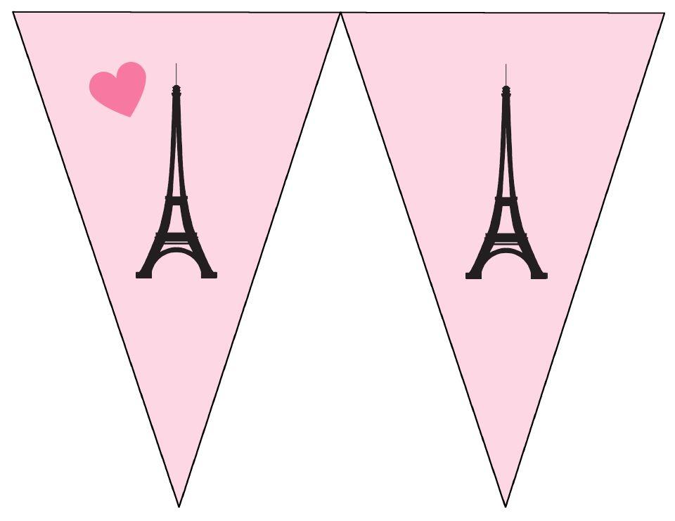 Paris Free Printable Banners..