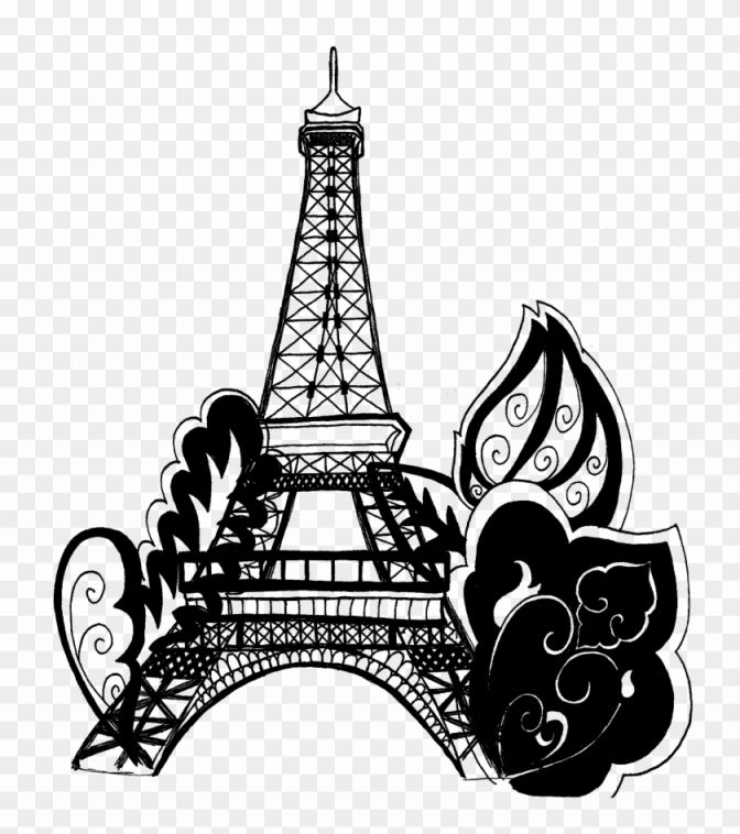 coloring ~ Eiffel Towerloring Pageslouring In Free Printable.