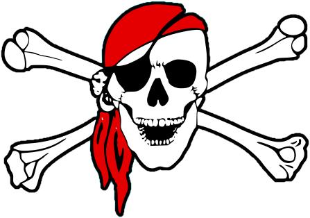 Free Printable Pirate Flags.