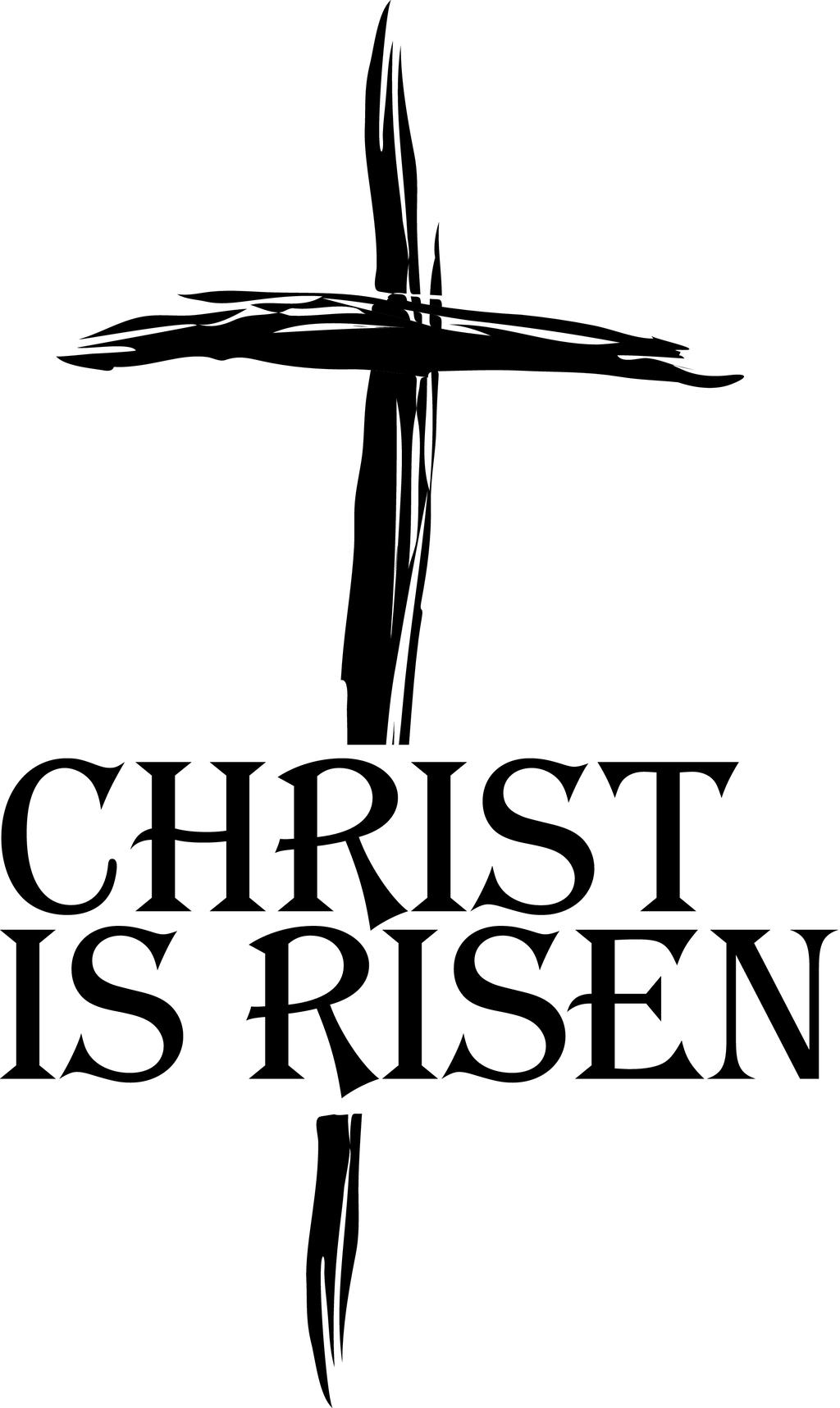 Christian Black And White Clipart Religious Easter Pictures.