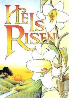 Free Printable Religious Easter Clipart.