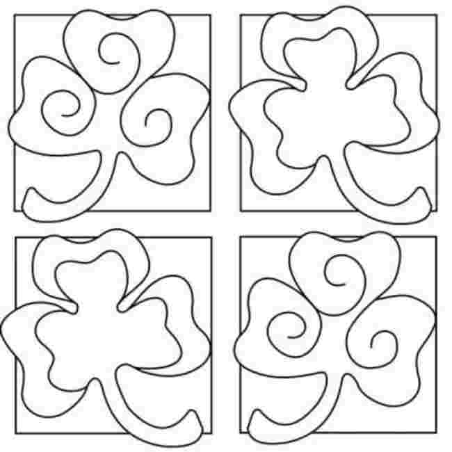 Yours Coloring: Shamrock Coloring Pages To Print Free.