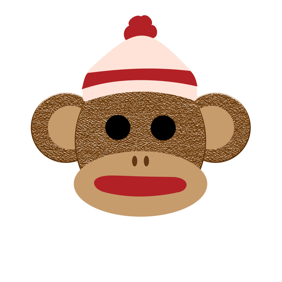 Free Printable Sock Monkey Pictures.
