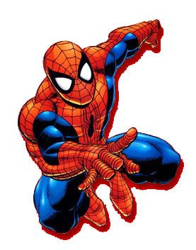 Spiderman Clip Art (free).