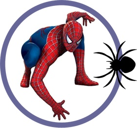 3668 Spiderman free clipart.