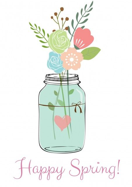 Pretty Free Spring Printables: Spring Art For Your Home.