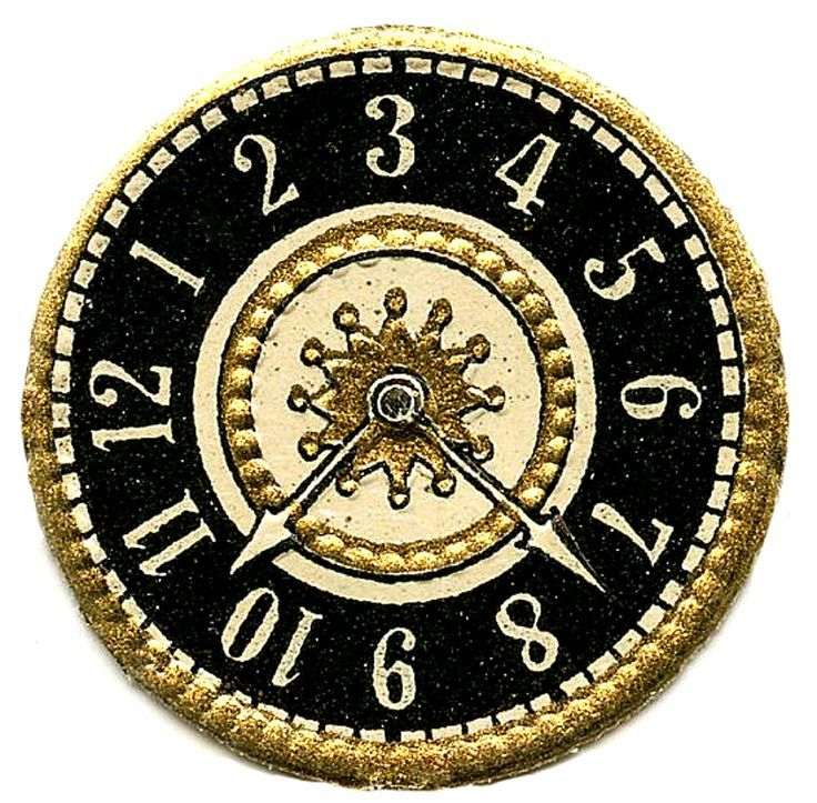 11 Clock Face Images.