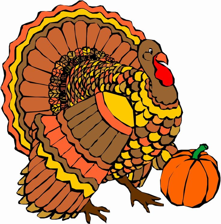 Free Thanksgiving Printable Clipart.