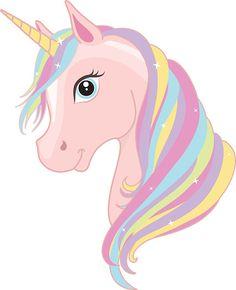 Colorful Unicorn Clipart.
