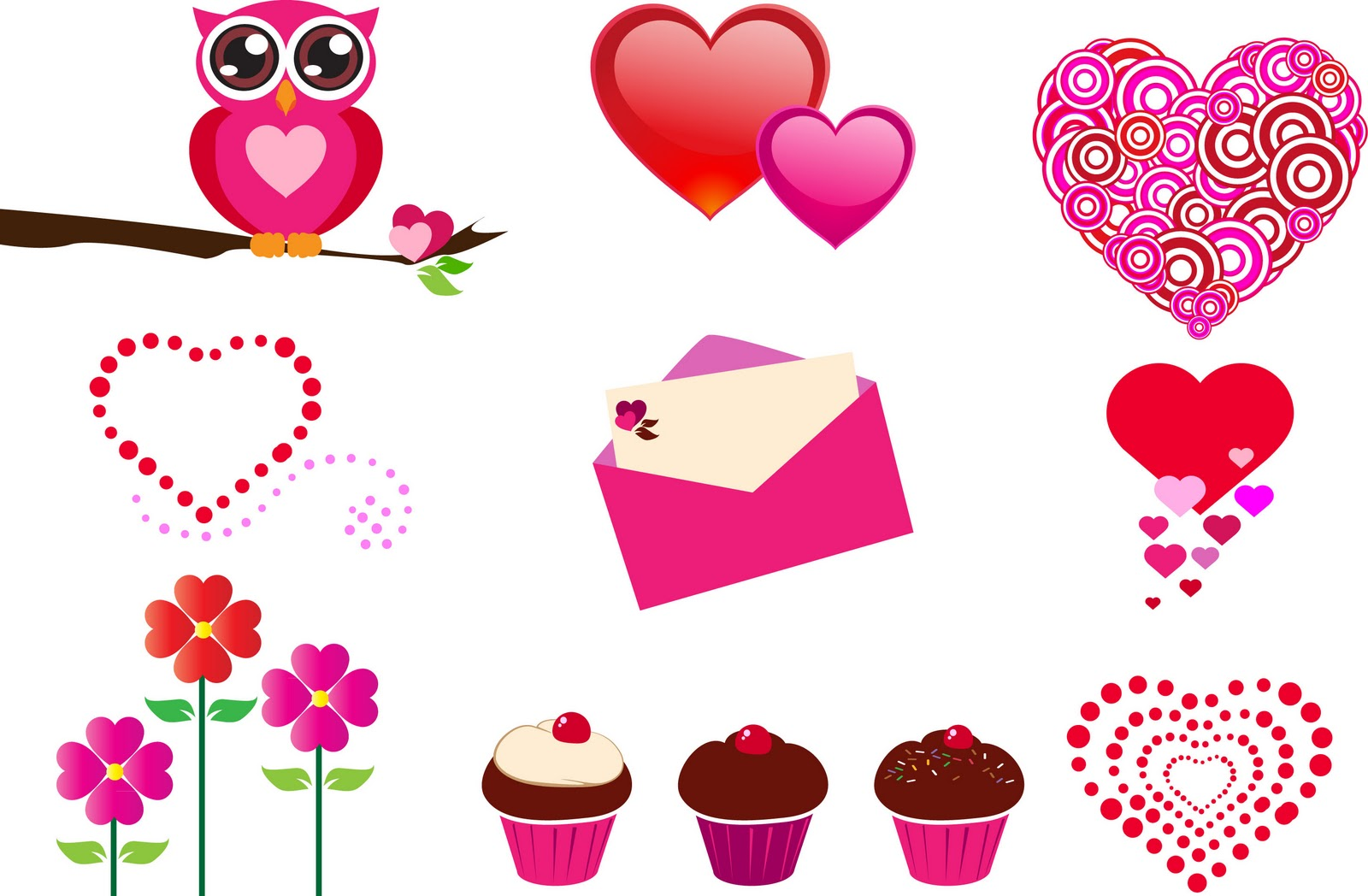 Free Printable Heart Clipart.