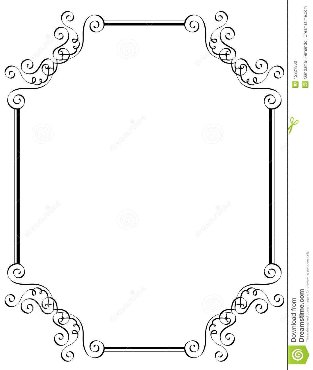 Free printable wedding clipart borders 2 » Clipart Portal.