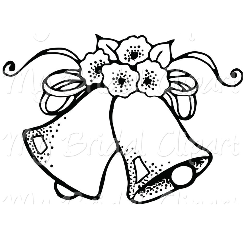 Wedding Clipart, Coloring Pages, And More Free Printable.