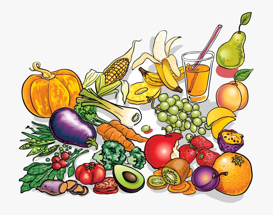 Healthy Food Free Clipart Clip Art On Transparent Png.