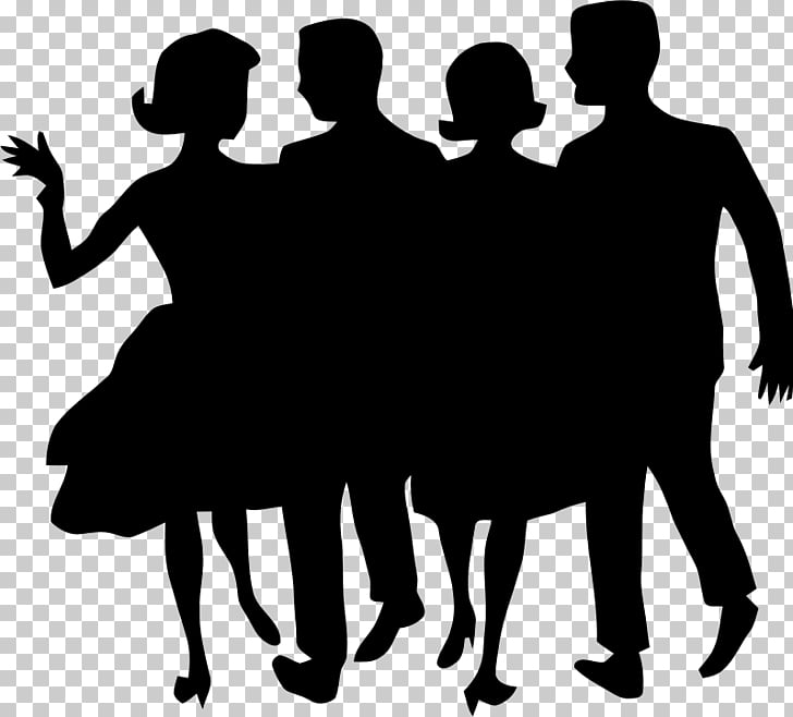 Silhouette , prom PNG clipart.