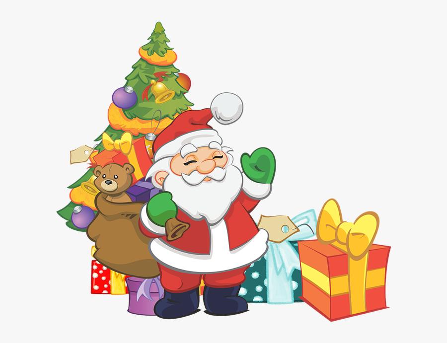 Transparent Santa\