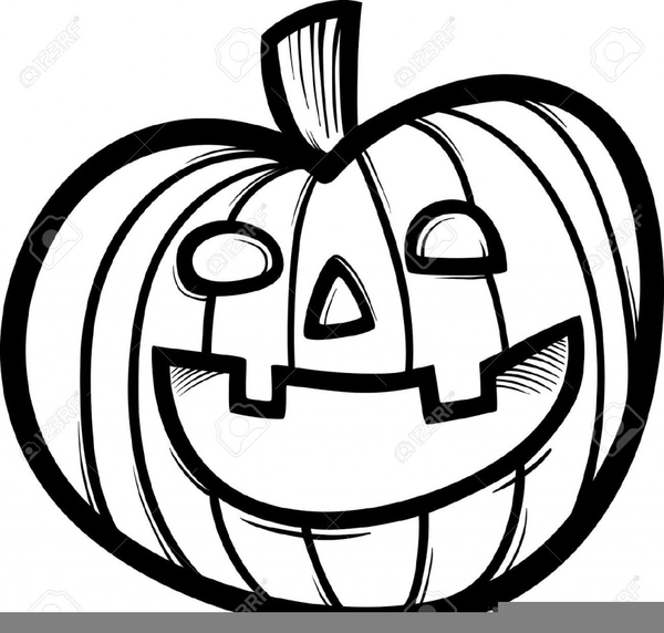 Pumpkin Clip Art Black And White images collection for free.