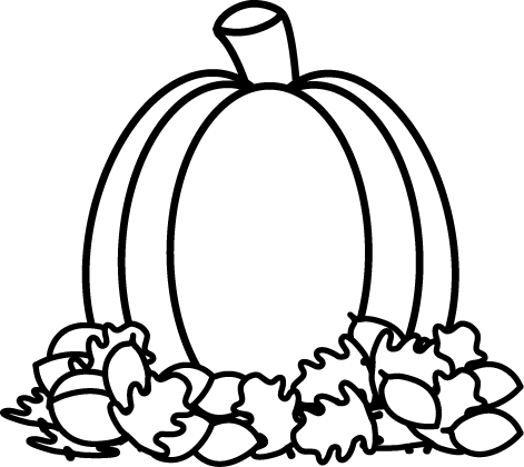 Free Pumpkins Clipart Black And White, Download Free Clip.