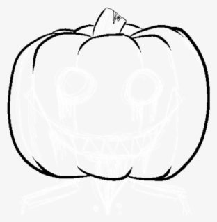 Free Pumpkin Outline Clip Art with No Background.