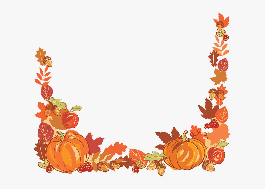 Pumpkins Clipart Floral.