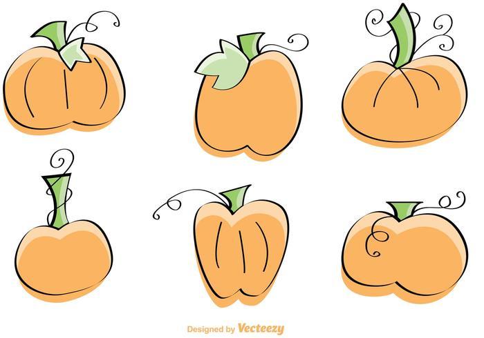Pumpkin Free Vector Art.