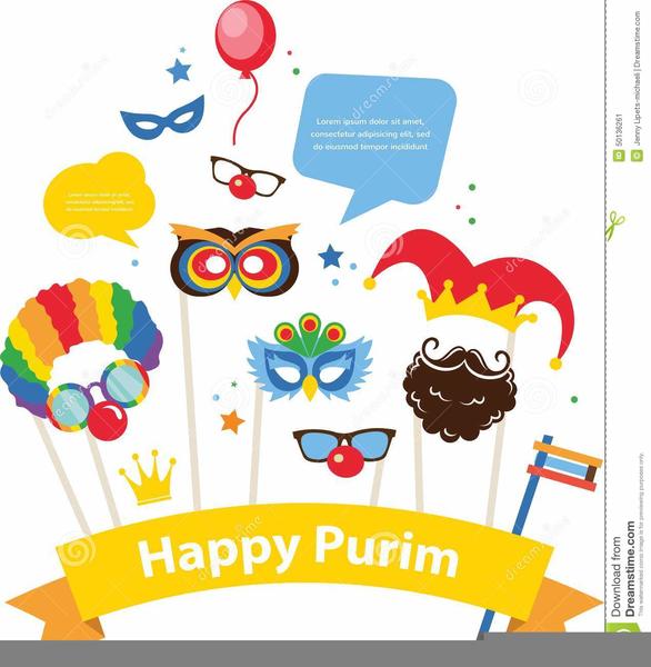 Free Clipart Purim.