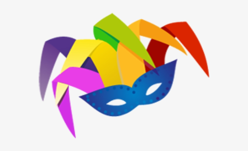 Masks Clipart Purim PNG Image.