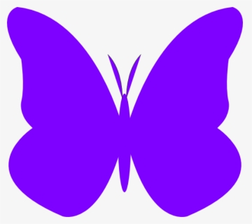 Free Purple Butterfly Clip Art with No Background.
