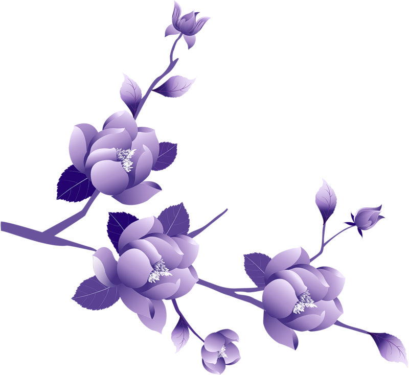 Free Purple Flower Border, Download Free Clip Art, Free Clip.