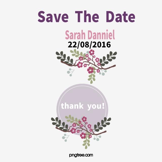 Vector Purple Wedding Invitations, Wedding Vector, Wedding Clipart.