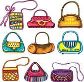 Purse Handbags Free Clip Art.